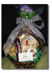 Gift Basket can be made from the following groups of items.