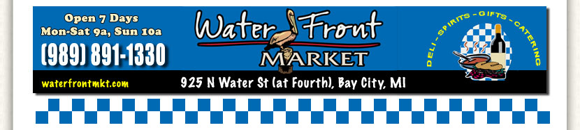 Water Front Market 925 Water Street Bay City MI
